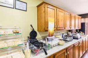 A kitchen or kitchenette at Quality Inn Paris Texas