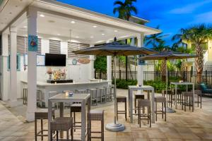 The lounge or bar area at Fairfield Inn & Suites by Marriott Key West at The Keys Collection