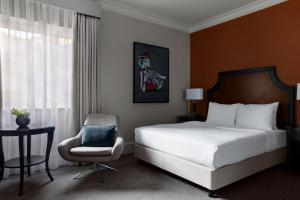 A bed or beds in a room at Bristol Marriott Royal Hotel