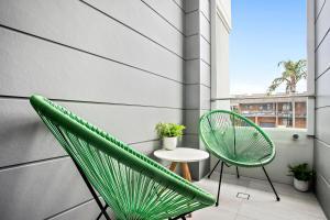 A balcony or terrace at No 5 Rockpool 69 Ave Sawtell