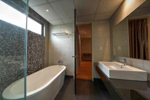 A bathroom at Acappella Suite Hotel, Shah Alam