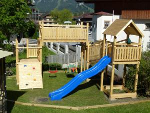 Children's play area at Appartements Alpenland