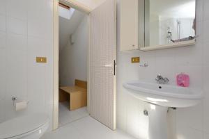 Koupelna v ubytování Parco Hemingway
