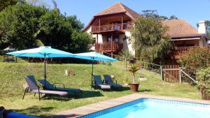 The swimming pool at or near Panorama Lodge