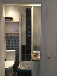 Koupelna v ubytování Louvre Studio