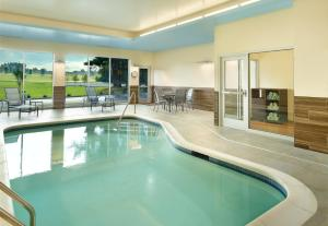 The swimming pool at or near Fairfield Inn & Suites by Marriott Hendersonville Flat Rock
