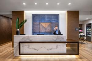 The lobby or reception area at AC Hotel by Marriott New York Downtown
