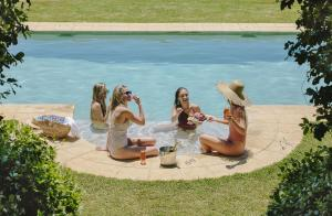 The swimming pool at or near Spicers Clovelly Estate