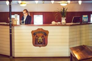Lobby/Rezeption in der Unterkunft Hotel Barken Viking