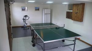 Ping-pong facilities at Takht House or nearby
