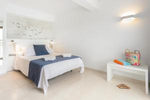 Cama o camas de una habitación en Hotel Playasol San Remo