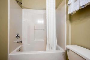 A bathroom at Econo Lodge Harrisburg - Hershey