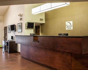 The lobby or reception area at Sleep Inn Arlington Near Six Flags
