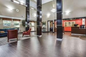 The lobby or reception area at Comfort Inn & Suites Love Field – Dallas Market Center