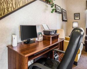 TV o dispositivi per l'intrattenimento presso Quality Inn Moab Slickrock Area