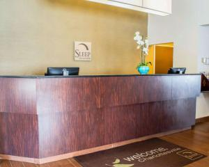 The lobby or reception area at Sleep Inn & Suites Monticello