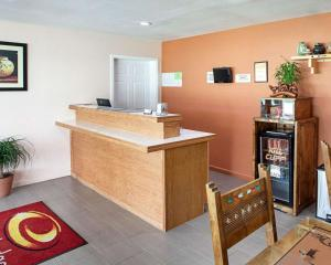 The lobby or reception area at EconoLodge Phillipsburg