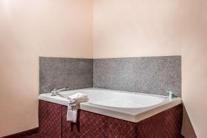 A bathroom at Quality Suites New Iberia