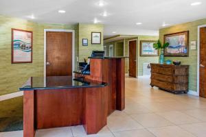The lobby or reception area at Treasure Bay Resort & Marina