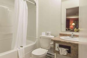 A bathroom at Rodeway Inn King William Huntsville