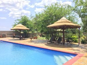 The swimming pool at or near Camp Bastian Mikumi
