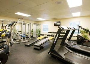The fitness center and/or fitness facilities at Comfort Inn Civic Center