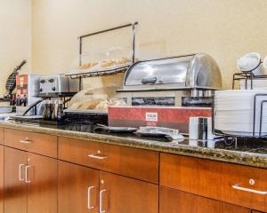 A kitchen or kitchenette at Comfort Inn & Suites Scarborough