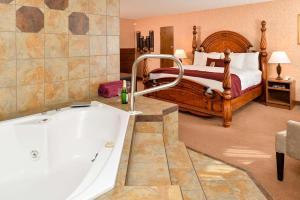 A bathroom at Quality Inn