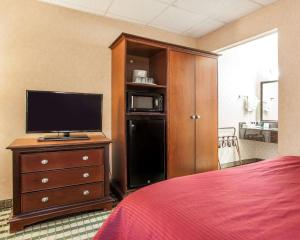 A television and/or entertainment center at Clarion Hotel Palmer Inn