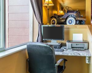 The business area and/or conference room at Quality Inn Winnemucca- Model T Casino
