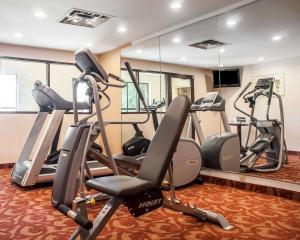 Gimnasio o instalaciones de fitness de Quality Inn Buffalo Airport