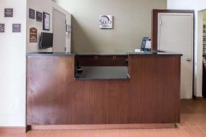 The lobby or reception area at Sleep Inn JFK Airport Rockaway Blvd Jamaica