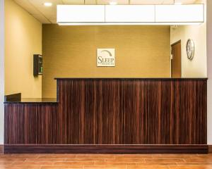 The floor plan of Sleep Inn & Suites Blackwell I-35