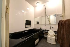 A bathroom at Hotel Ponto