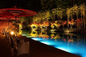 The swimming pool at or close to Okunoin Hotel Tokugawa