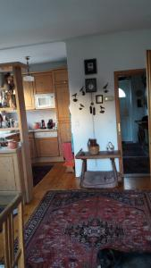 Küche/Küchenzeile in der Unterkunft Ferienwohnungen Dr. Neubert