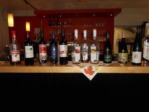 Drinks at Hotel Burgcafe