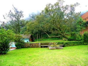 Um jardim em Pousada Shamballah Paranapiacaba
