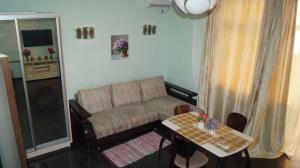 Гостиная зона в Apartamienty na Lienina 55