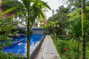 The swimming pool at or close to Krissna Villa Siem Reap