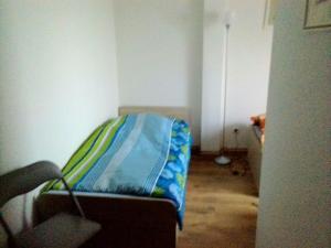 Ein Sitzbereich in der Unterkunft Hostel Falkenstein