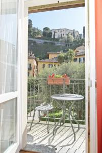 A balcony or terrace at Residence la Limonera