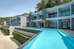 The swimming pool at or near Patong Bay Hill Resort