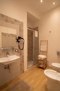 Salle de bains dans l'établissement Vanvitelli Domus