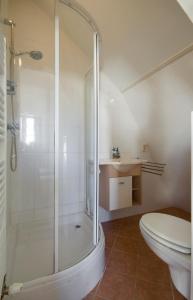 A bathroom at Corpus Apartment