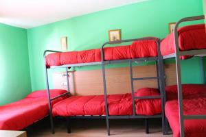 A bunk bed or bunk beds in a room at Albergue Turistico La Torre