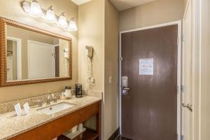 A bathroom at Comfort Inn Tucson