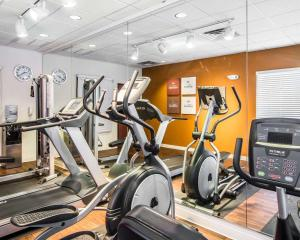 The fitness center and/or fitness facilities at Comfort Suites Prescott Valley