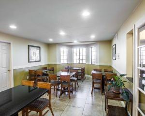 Een restaurant of ander eetgelegenheid bij Quality Inn Holbrook