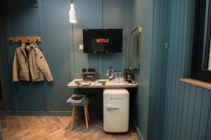 A bathroom at The Devlin Dublin